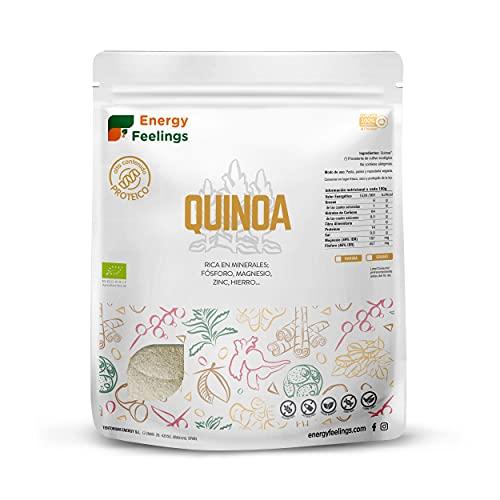 Energy Feelings Harina De Quinoa Ecológica, 1000 Gramo