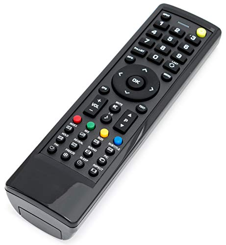 VINABTY Fernbedienung für HANNSPREE LCD Fernseher TV HSG1113 HSG1139 HSG1116 HSG1076 SJ28DMBB HSG1142 HSG1074 HSG1051 HSG1066 HSG1067 HSG1074 HSG1075 HSG1076 HSG1101 HSG1114 HSG1116 HSG1117 HSG1141
