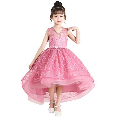 Bascar - Vestido de Fiesta para niña, niño, niña, cumpleaños, Fiesta, bebé, Mariposa, alas, Princesa, Tul, para Bodas, Fiestas, Celebraciones, Baile b 10 años