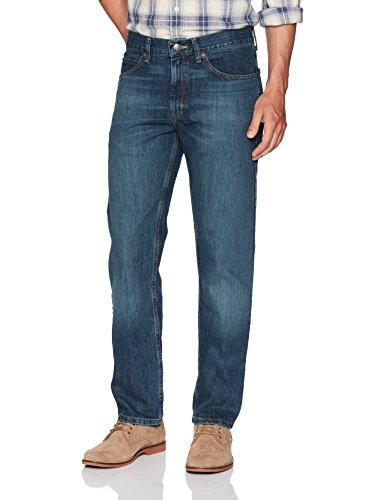 LEE Men's Regular Fit Straight Leg Jean, Silo, 33W x 36L