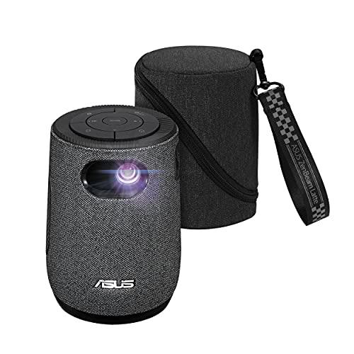 ASUSTek LED ポータブル プロジェクター ZenBeam Latte L1 (300ルーメン/解像度 HD(1280 x 720)/LED光源(寿命約30000時間)/モバイルバッテリー搭載)