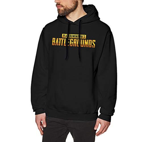 MYHL Men's PUBG Battlefield Graphic Fashion Sport Hip Hop Hoodie Sweatshirt Pullover Tops