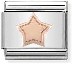 Charm Nomination in Acciaio e Oro Rosa – Composable – 430104/04