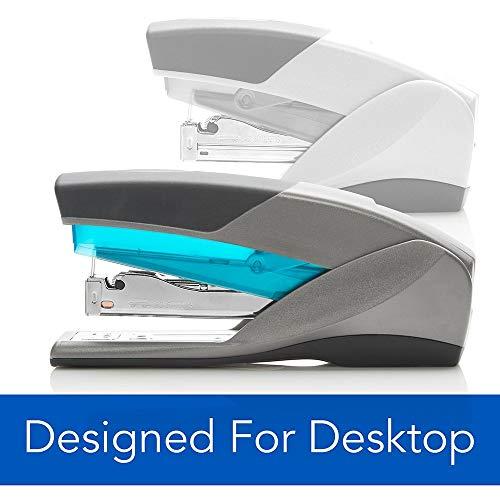 Swingline Stapler, Optima 25, Full Size Desktop Stapler, 25 Sheet Capacity, Reduced Effort, Blue/Gray - Pack of 3 Photo #2