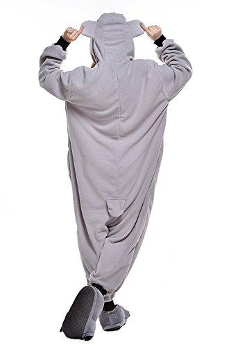 ABYED® Kostüm Jumpsuit Onesie Tier Fasching Karneval Halloween, Koala - 5
