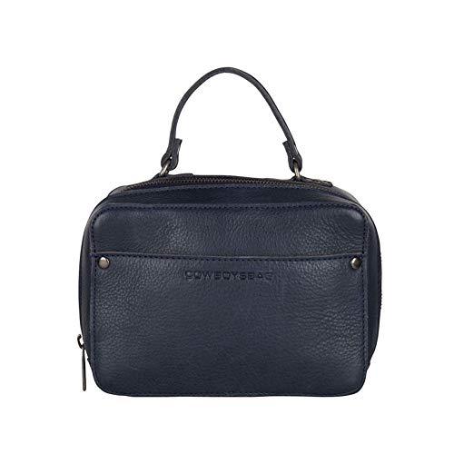 Cowboysbag Damen Leder Tasche Handtasche Bag Almo Darkblue Blau 2190