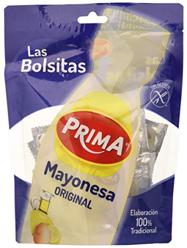 Prima - Mayonesa en Bolsitas, Elaborada con Huevos y Aceite