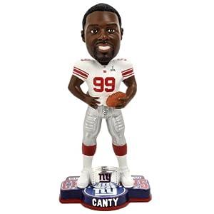 NFL New York Giants Super Bowl XLVI Champions Ring Bobble, C. Canty