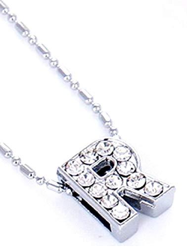 Ketting - letter - alfabet - initiaal - namen - zilveren kleur - geschenkidee - moederdag - valentijnsdag
