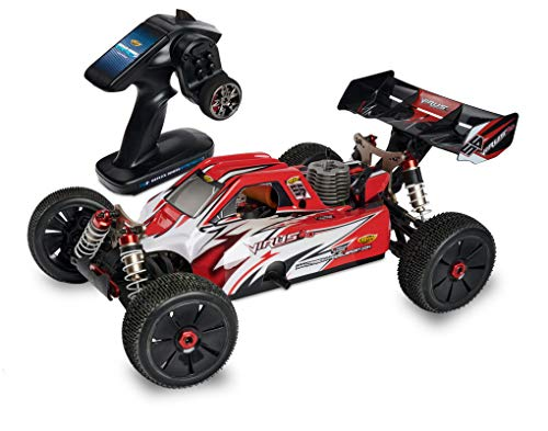 Carson 500204031 Buggy Virus 4.0 1:8 V21 –RC Verbrenner, 1.9 PS, 4WD, bis zu 65 km/h schnell, Premium Bauteile, Offroad, RTR, 2.4 GHz, ferngesteuertes Auto
