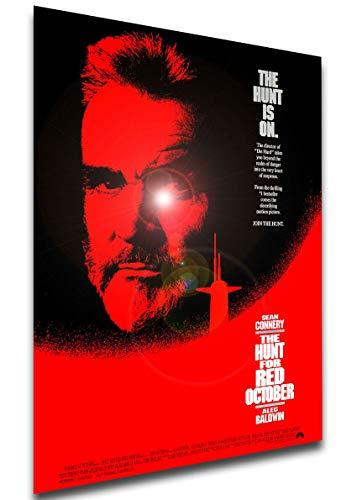 Instabuy Poster Locandina - The Hunt for Red October - Caccia a Ottobre Rosso (1990) Manifesto 70x50cm