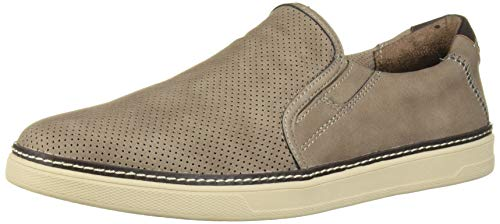 Dr. Scholl's Shoes Men's Eager Sneaker, Taupe Grey, 9