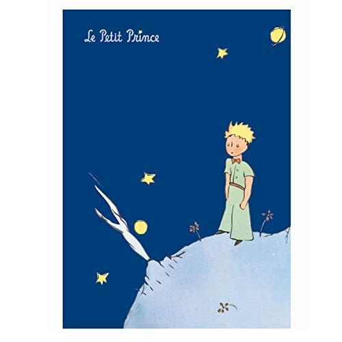Le Petit Prince Cahier Bleu Foncé