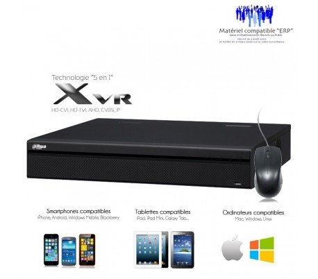 DVR Dahua–XVR Grabador 16Canales Full 1080p