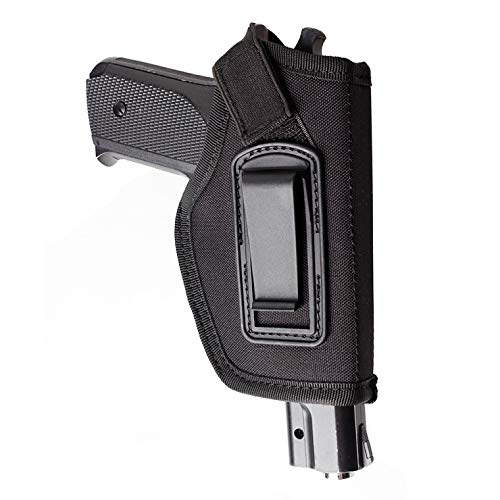 L-Yune, Holster for Fit Glock 17 19 22 23 32 33 Ruger Nylon Holster Gun intérieur Ceinture dissimulée Carry Pistolet Holster (Couleur : Noir)