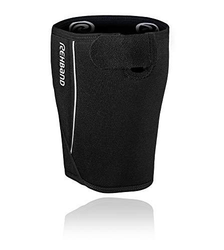Rehband QD Thigh Support Oberschenkelbandage, schwarz, M