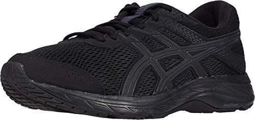 ASICS Men's Gel-Contend 6 (4E) Running Shoes, 14XW, Black/Black