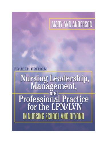 Nursing Leadership, Management, and Professional Practice...
