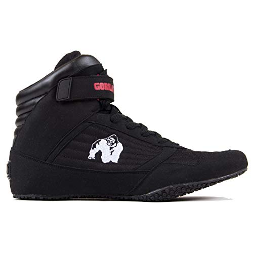 GORILLA WEAR High Tops Bodybuilding e Scarpe Fitness - Uomo Nero 44