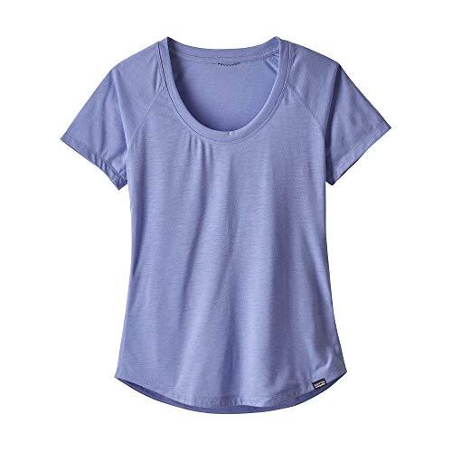 Patagonia W's Cap Cool Trail T-Shirt pour Femme M Violet Clair/Bleu