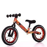 YUHT Bicicleta de Equilibrio, Racing Bicicleta de Aprendizaje sin Pedales para niños pequeños/sin Pedal, Scooter, para niños niñas de 2-6 años