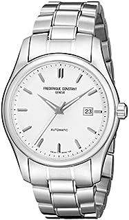 Frederique Constant Men's FC303S6B6B Index Silver Automatic Dial Watch