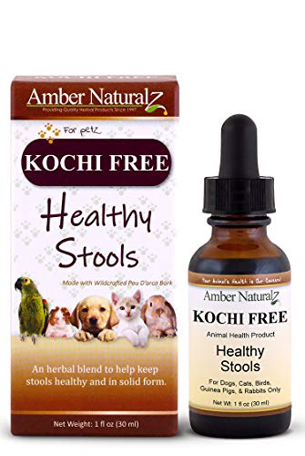AMBER NATURALZ - Kochi Free - Healthy Stools - for Petz - 1 Ounce