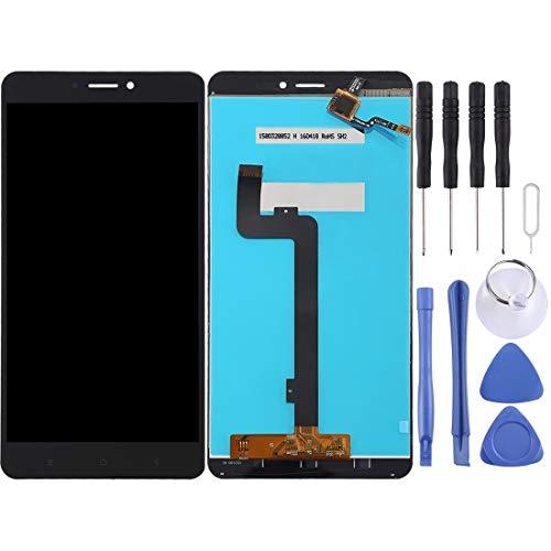Yukiki Vuelva a Colocar la Pantalla LCD y digitalizador Asamblea Completa for Xiaomi Mi MAX 2 (Negro) (Color : White)