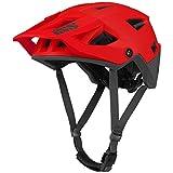 IXS Trigger Am - Casco de Bicicleta de montaña para Adulto, Unisex, Fluorescente, Talla L (58-62 cm)
