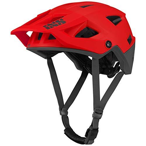 IXS Trigger AM Mountainbike-Helm für Erwachsene, Unisex, Neonrot, ML (58 – 62 cm)