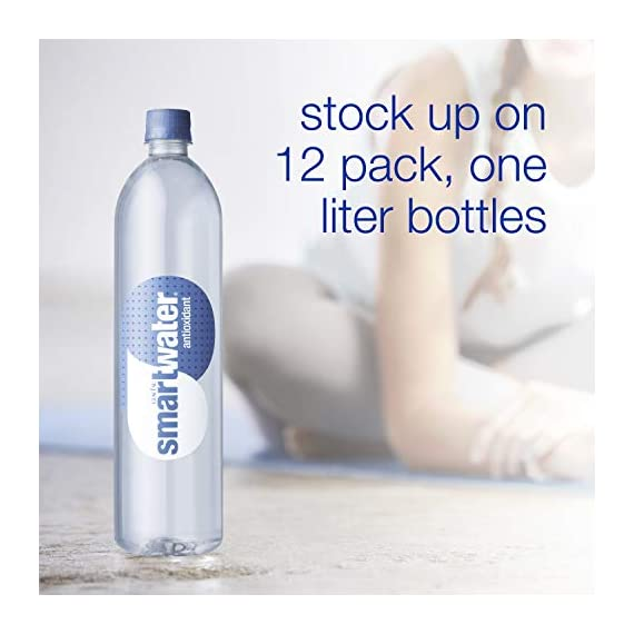 Smartwater antioxidant, 33. 8 fl oz bottles, pack of 12 3 purity you can taste. Hydration you can feel. Your newest way to hydrate the smartwater you love with a smart new twist. Vapor distilled water for purity, added electrolytes for taste and now infused with antioxidant selenium. Smartwater antioxidant water is the same crisp, clean water you love, it's vapor distilled, with added electrolytes for taste and infused with antioxidant selenium.