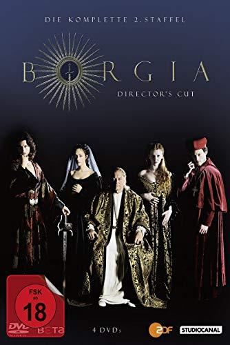 Borgia - Staffel 2 (Director's Cut) (4 DVDs)