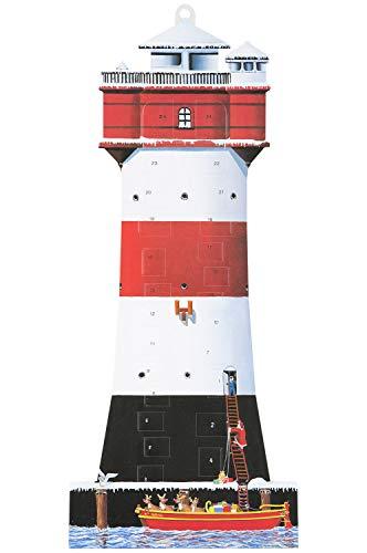mare-me Adventskalender Leuchtturm Roter Sand
