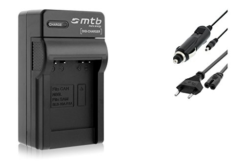 Cargador (Coche/Corriente) para Canon NB-6L / Ixus 85 IS, 95 IS/Ixy/Powershot S90 S95.Ver...