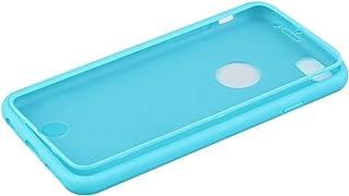 جراب جلد TPU ناعم عصري مع واقي شاشة لهاتف iPhone 6 4.7 '' مصمم بشكل رائع ومتين ورائع