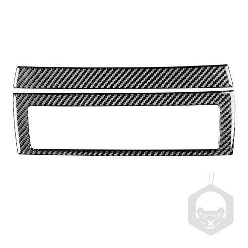 RRX Cubierta de marco de ventilación de fibra de carbono para BMW M6 6 Series E63 E64 2004 2005 2006 2007 2008 2009 2010 (ventilación central)