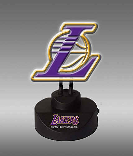 Memory Company NBA LA Lakers Neon Lamp, One Size, Multicolor image