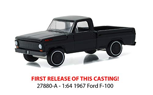 Greenlight Black Bandit Collection Series 16-1967 Ford F-100 Truck 1:64 Scale Die-Cast Vehicle