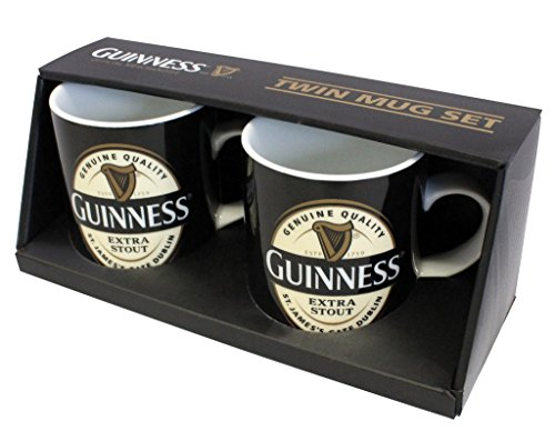 Guinness Large Toucan Embossed Mug Black Optional Gift Box