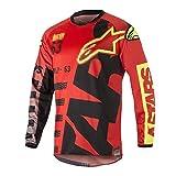 WYNBB Traje de Descenso al Aire Libre - Mountain Bike Motocross Jersey Camiseta de Manga Larga,B7,XL