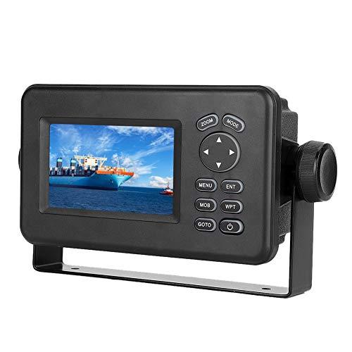 EBTOOLS Marine GPS Navigator, 4.3 pulgadas LCD Combo Marine GPS Navigator Transceptor de pantalla multipantalla Transceptor LCD