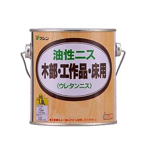 和信ペイント 油性ニス 高耐久・木質感生かした高級仕上げ ローズ 1.6L
