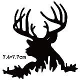 JWGD El Corte de Metal Muere Navidad Ciervos 2020 Nuevo Arte Scrapbooking Muere Recortes de Plantilla Plantilla de Maquillaje Tarjeta de Papel en Relieve