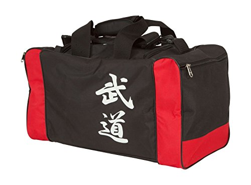 Hayashi Sporttasche Bushido Der Weg des Kriegers China Japan Zeichen Chinesische Schrift (55 x 26 x 26 cm)
