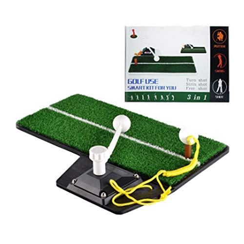 Starthulp voor gazon, praktische mats, golftrainers, trillingpads, geen noodzaak om de bal te verzamelen, voor de tuin buitenshuis, helpt bij de training in de indoor golf.