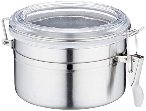 Metaltex 185310010 Vorratsdose 0.7 Liter Edelstahl