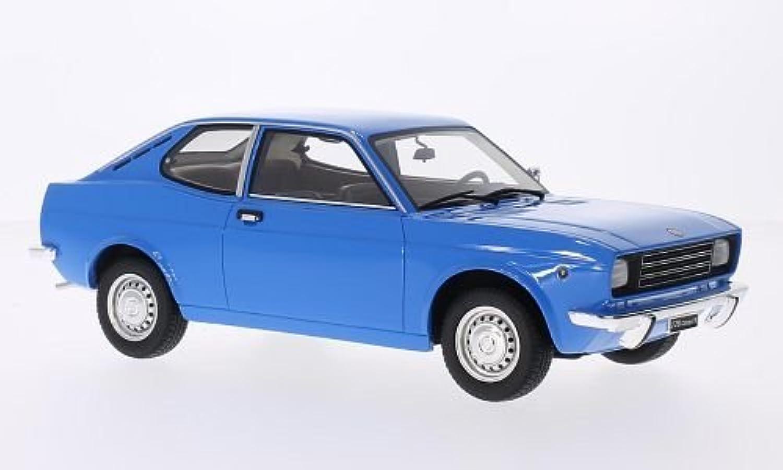 Fiat 128 Coupe 1100 S, blau, 1972, Modellauto, Fertigmodell, Laudoracing-Model 1 18
