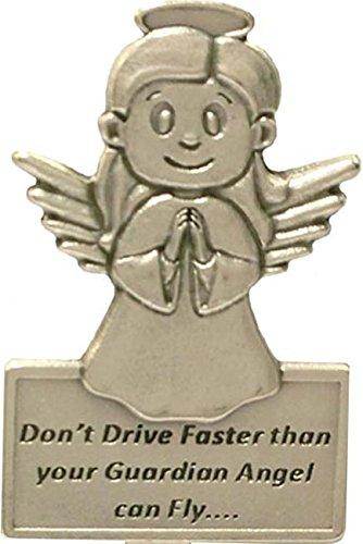 Bewaker Angel Auto Visor. Rijd niet sneller dan je Engel kan vliegen. Angel Charm voor de auto.