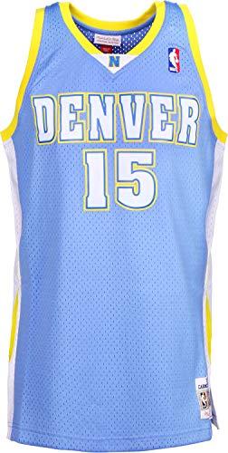 Mitchell & Ness Carmelo Anthony #15 Denver Nuggets Canotta Blue