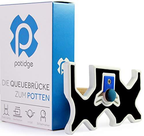 potidge- Die ULTIMATIVE Billard BRÜCKE BZW. Queue BRÜCKE. Das Must Have im Pool Billard Zubehör | Billard Brückenqueue |